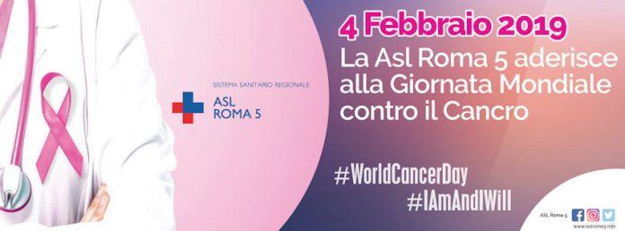 L'Asl Roma 5 ha aderito alla giornata mondiale contro il cancro