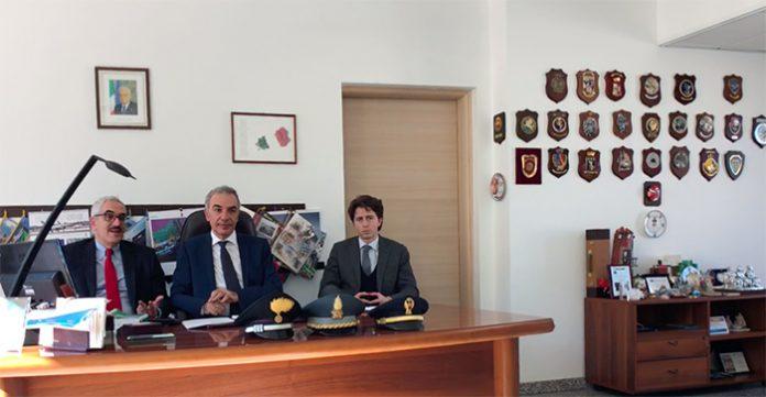 criminalità tivoli I pubblici ministeri Andrea Calice e Luigi Pacifici ai lati del procuratore di Tivoli Francesco Menditto