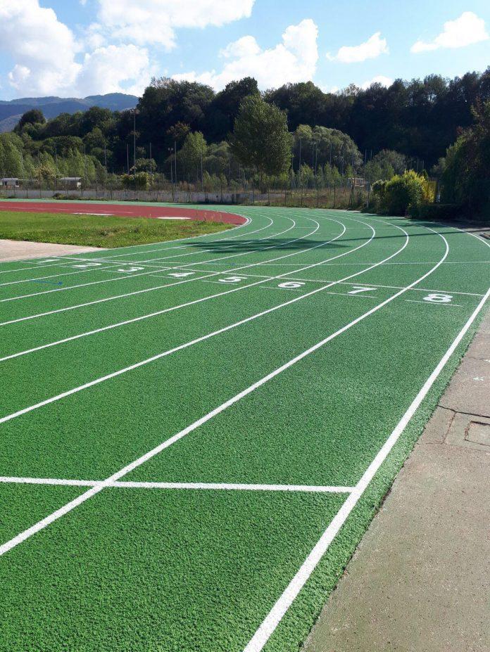 La nuova pista di atletica dell'Arci