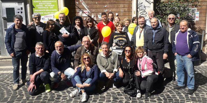 Il Movimento 5 Stelle di Tivoli in piazza con la nuova candidata Rosa Saltarelli