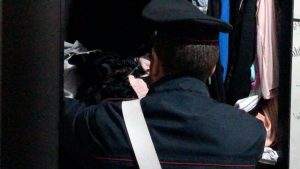 Il blitz dei carabinieri all'alba a Ferentino