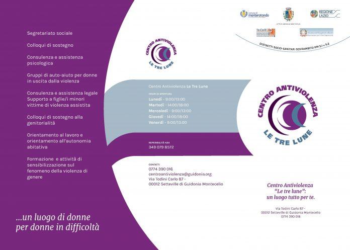 Centro antiviolenza Le tre Lune - Guidonia Montecelio