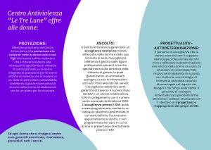 Centro antiviolenza di Guidonia Montecelio: Le Tre Lune