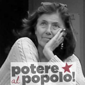 Elisabetta Canitano, candidata sindaco di Tivoli con Potere al Popolo