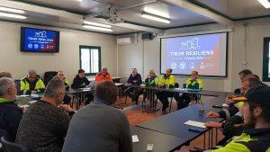 Riunione logistica dei volontari per Tibur Resiliens 2019