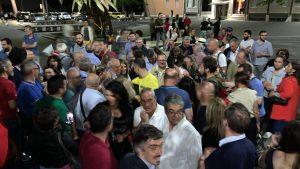 Giuseppe Proietti, festa in piazza Garibaldi