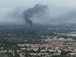 Incendio a Stacchini, chiusa l'A1