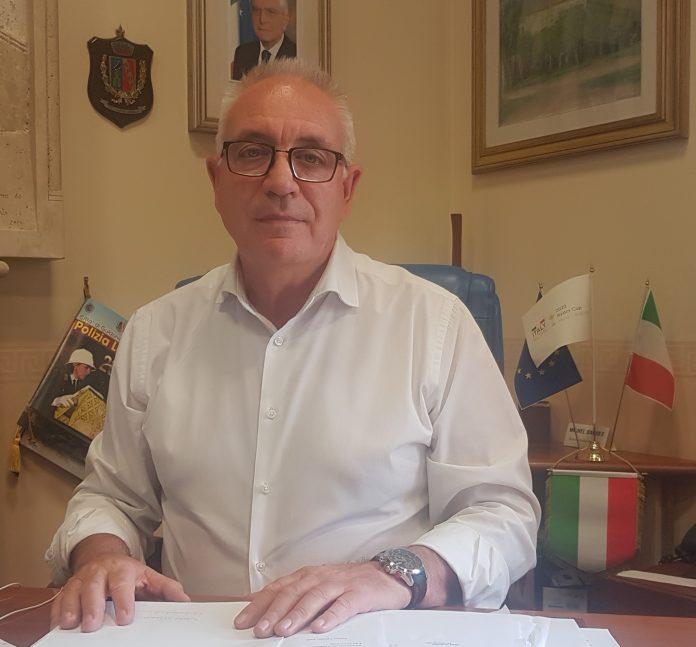 Il sindaco di Guidonia Michel Barbet