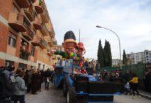 Carnevale di Tivoli, uno dei famosi carri tiburtini